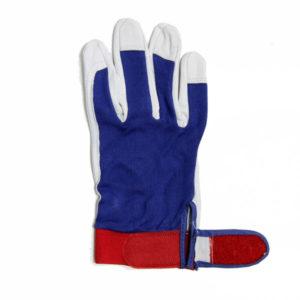 Γάντια δερματοπάνινα με βέλκρο